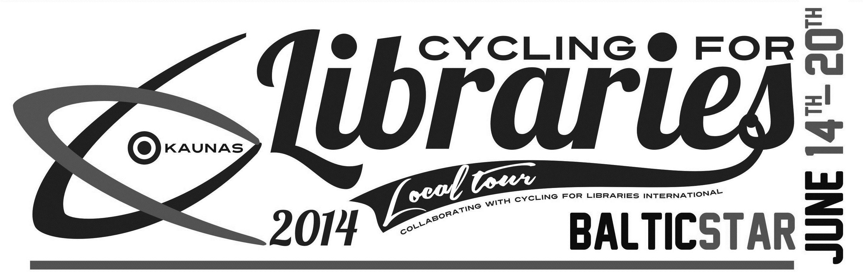 """Tarptautinis bibliotekininkų dviračių žygis """"Baltic Star 2014"""""""