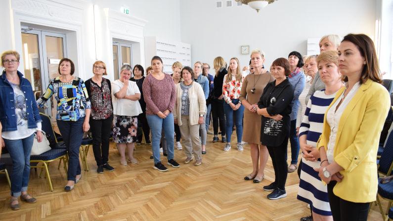 Lietuvos bibliotekininkų draugijos skyrių pirmininkų susitikimas