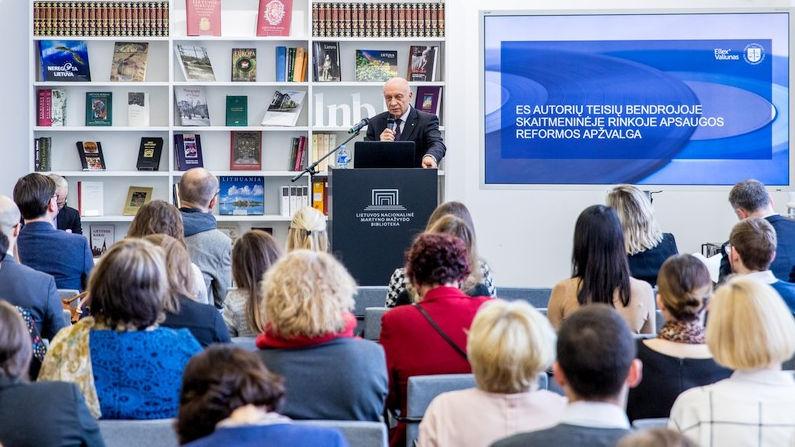Seminaras, skirtas ES autorių teisių reformai