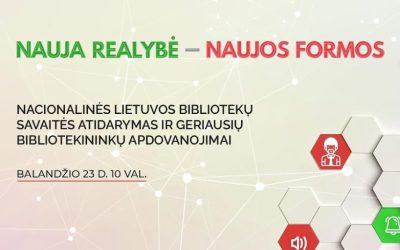 Nacionalinės Lietuvos bibliotekų savaitės atidarymas