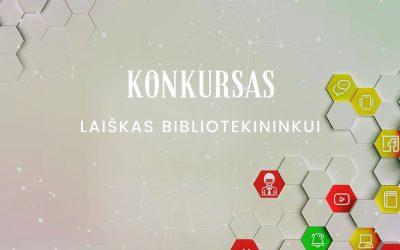 Laiškas bibliotekininkui – mintys, pasitinkant Lietuvos bibliotekininkų draugijos 90-metį