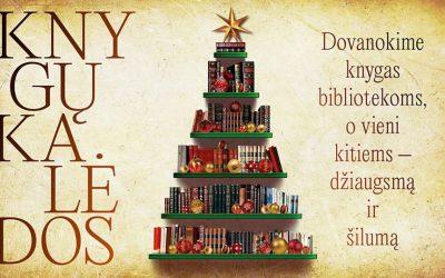 """Devintosios """"Knygų Kalėdos"""" vėl burs bendruomenes bibliotekose"""